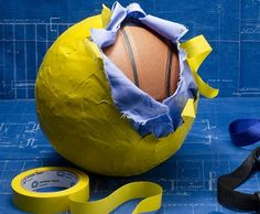 DIY  Medicine Ball ~ there's super fun duct tape now too, so I'll get colorful with that :)