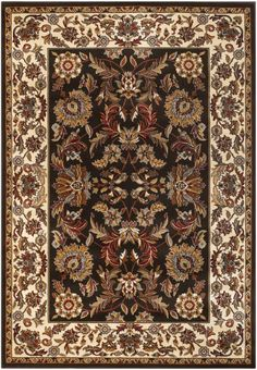 Chandra Rugs Silver SIL1 Brown Rug