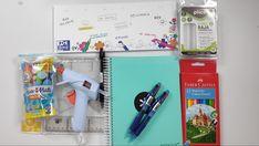 Haul de material de manualidades y material escolar - materialescolar - YouTube