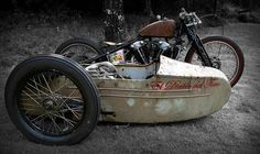 Custom bikes, classic and concept motorcycles from all over the world Vintage Bikes, Vintage Motorcycles, Custom Motorcycles, Custom Bikes, Harley Davidson Trike, Harley Bobber, Bmw Scrambler, Concept Motorcycles, 3rd Wheel