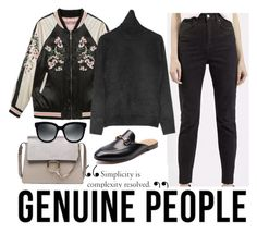 """""""Genuine People"""" by martadvenancio ❤ liked on Polyvore featuring genuinepeople"""