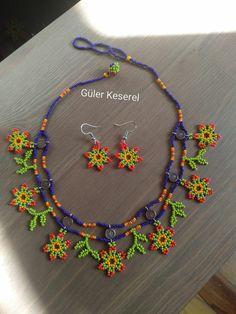 Seed Bead Jewelry, Bead Earrings, Seed Beads, Diy Jewelry, Tassel Necklace, Tatting, Beard Jewelry, Handmade Beads, Beaded Flowers