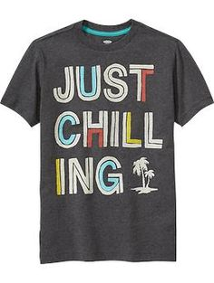 Boys Text-Graphic Tees | Old Navy