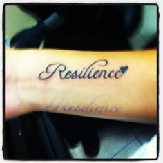 resilience tattoo - Bing Images