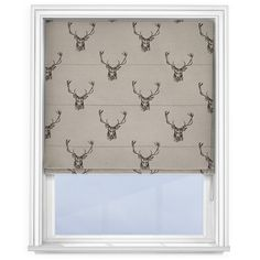 Combine rustic charm and contemporary class with this Stag Grey Roman blind. Our best-selling Stag Grey blind brings an effective combination of highlan. Living Room Blinds, Bedroom Blinds, House Blinds, Blinds For Windows, Window Blinds, Patio Blinds, Outdoor Blinds, Bamboo Blinds, Matchstick Blinds