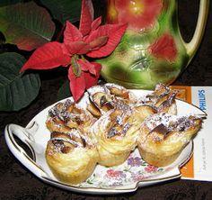 W Mojej Kuchni Lubię.. : różyczki jabłkowe w cieście francuskim:Airfryer hd...