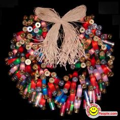 Shotgun shell wreath for a RedNeck Christmas Redneck Christmas, Christmas Time, Christmas Wreaths, Christmas Decorations, Christmas Ideas, Christmas Door, Christmas Stuff, Merry Christmas, Christmas Ornaments