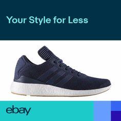 half off b9e7b 5075a BY4092 Mens Adidas Busenitz Pure Boost PK Skateboarding Sneaker - Navy  Blue