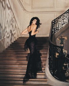 Stephanie Seymour photographed by Karl Lagerfeld for Chanel, 1995.