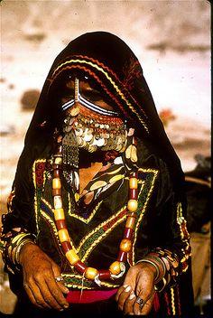 Bédouine désert du Sinaï en Egypte 1971