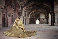 Girls' Fur Sporran Scotland World & Traditional Clothing Bollywood Bridal, Bollywood Lehenga, Bridal Lehenga Choli, Lehenga Suit, Indian Embroidery, Indian Ethnic Wear, Indian Dresses, Traditional Outfits, Wedding Dresses