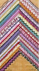 have book: An Encyclopedia of Crazy Quilt Stitches and Motifs by author: Linda Causee Hand Embroidery Stitches, Embroidery Techniques, Ribbon Embroidery, Machine Embroidery Designs, Embroidery Patterns, Crazy Quilt Stitches, Crazy Quilt Blocks, Crazy Quilting, Quilting Ideas