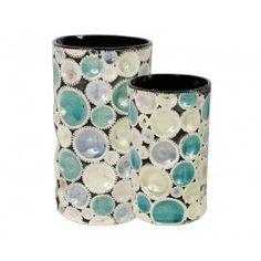 Ceramic Circles Vases
