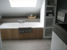 badkamer schuin dak indeling - Google zoeken