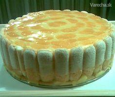 Nepečená pudingová torta (fotorecept)