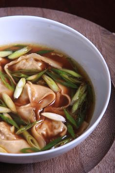 Oyster Mushroom Wonton and Lemongrass Soup by Jeff and Erin's pics, via Flickr