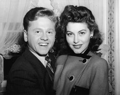 Ava Gardner & Mickey Rooney | 21 Couples You Should Never Forget Existed