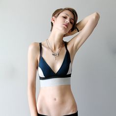 79ae4e3c46 Introducing Sophie Hines  Handmade Soft Bras With An Edge Teal And Grey