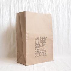 STUSSY Livin' - Large Brown Bag