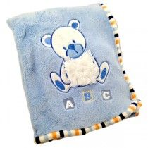 Personalised Baby Blankets - Little Bear - Available now at Becky and Lolo