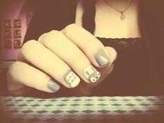 Uñas Totoro #UnaGeek #GeekGirl