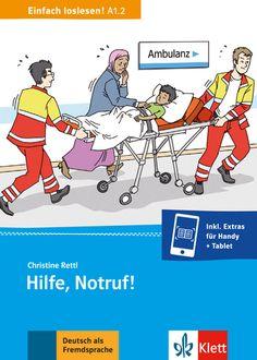 Klett material zur Unterstützung von einem Kapitel über das  Krankenhaus oder die Nothilfe(DaF)