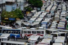 Venezuela bus strike causes traffic chaos in Caracas