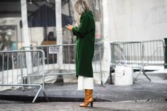 On the Streets of New York Fashion Week Fall 2015 - New York Fashion Week Fall 2015 Street Style Day 6