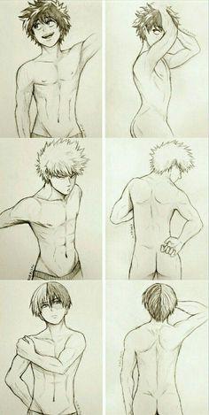 Boku no Hero Academia || Midoriya Izuku, Katsuki Bakugou, Todoroki Shouto, #mha