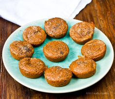Orange Spice Chia Energy Muffins. With Maca!