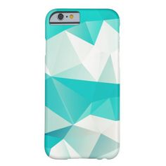 Bezels Abstract Triangular Barely There iPhone 6 Case