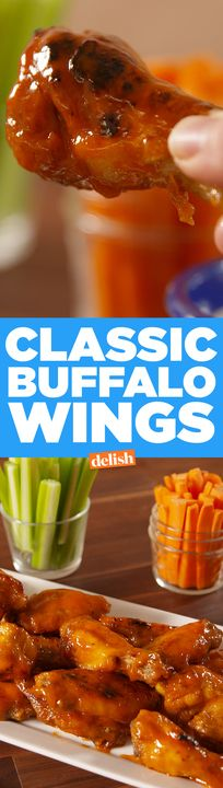 What wings are you making this Sunday? Get the recipe from Delish.com.