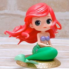 QPOSKET FIGURE ARIEL LA SIRENETTA Q POSKET DISNEY THE LITTLE MERMAID 14CM COLOR | Toys & Games, Action Figures, TV, Movies & Video Games | eBay!