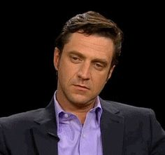 Image result for raul esparza crying gif