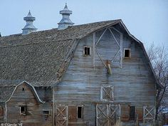 Beautiful Old Barn around the Southern Idaho Countryside.