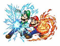 Nintendo has opened the Mario & Luigi Superstar Saga + Bowser's Minions teaser site. Super Mario Bros, Mundo Super Mario, Super Mario Kunst, Super Mario Brothers, Super Smash Bros, Mario And Luigi Games, Mario Und Luigi, Nintendo 3ds, Minions