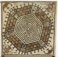 Ancient roman mosaic      #mosaic #roman