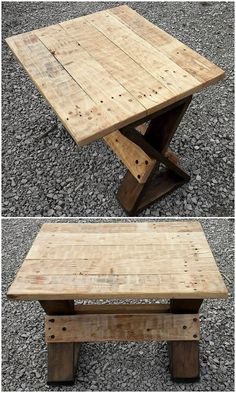 This is a artistic and so fantastically created wood pallet table structure! Being settled with the finest arrangement of the planks, the playful impact of the rustic wood pallet use on top of the table is one of its mesmerizing feature. Did you find this table interesting to catch up?