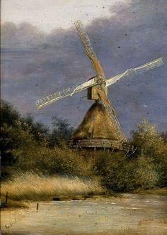 The mill - Paul Gabriël (1828 - 1903)