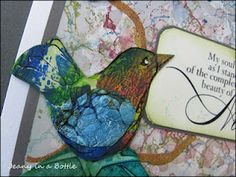 Such beautiful little birds! Wings are made from Tyvek (USPS uses tyvek mailing envelopes). @Robin S. Howard