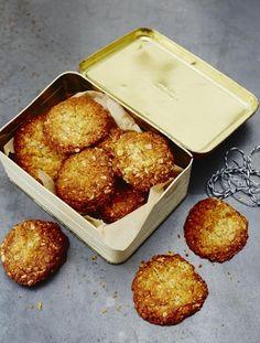 Anzac biscuits   Jamie Oliver   Food   Jamie Oliver (UK) Includes vanilla extract and orange zest
