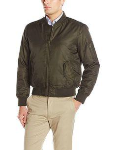 Levi's Men's Ma-1 Flight Jacket, Olive, XXL