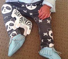Panda pants - Kidooz - Hippe kids musthaves