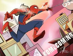 Spider-Man Homecoming by JesusMarquez1994