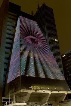 Arte digital ilumina avenida Paulista - Link Estadão – Cultura Digital - Estadao.com.br