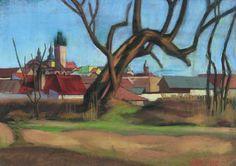 Nagybánya látképe, 1938: 5. aukció (2000. tavasz) 44.tétel City Art, Art Ideas, Walls, Texture, Painting, Surface Finish, Painting Art, Paintings, Painted Canvas