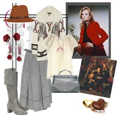 Hayley Mills by pinkflamingorose on Polyvore featuring Isabel Marant, Designworks, Vanessa Bruno, Michael Kors, Mulberry, Paul Brodie, Michal Negrin, House of Waris and rag & bone