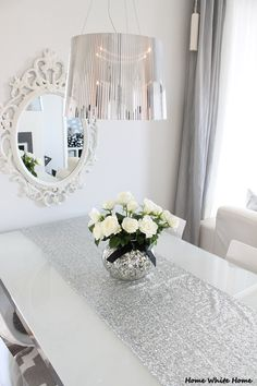 My dining table - Home White Home