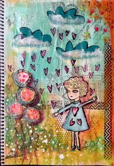 Art journal por fin....