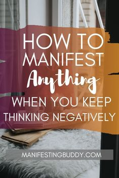 How To Manifest Anything When You Keep Thinking Negatively – ManifestingBuddy Money Affirmations, Positive Affirmations, Positive Quotes, Gratitude Quotes, Happiness Quotes, Chakra Affirmations, Positive Mindset, Positive Life, Think Positive Thoughts